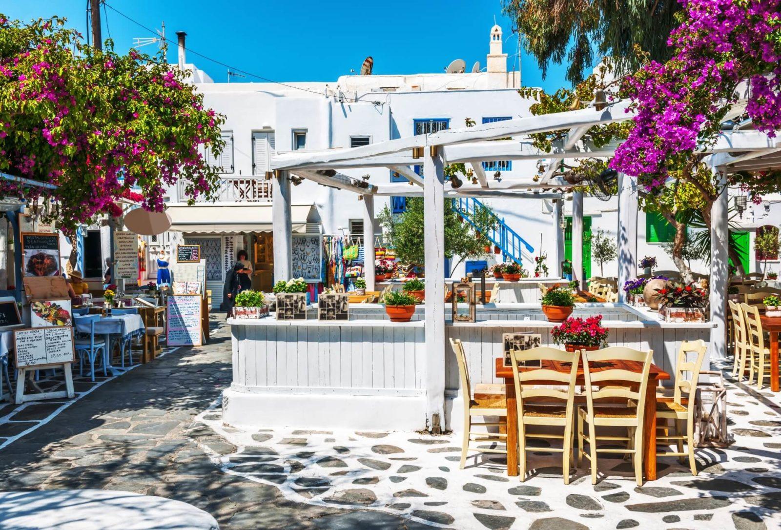 Ресторанчик на Миконосе