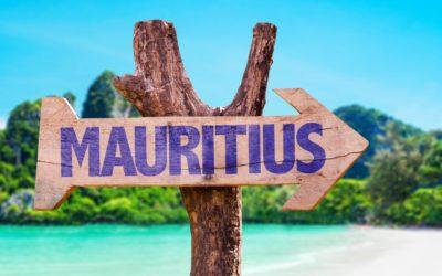 Фото вывески остров Маврикий