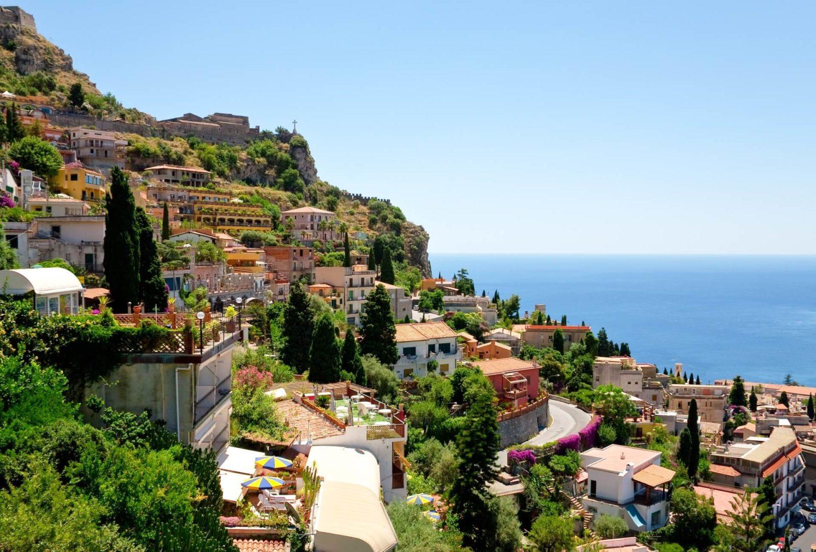 Таормина Сицилия