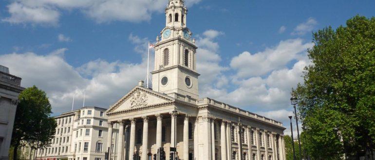 Церковь святого Мартина в Лондоне